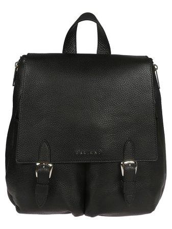 Orciani Double Buckle Backpack