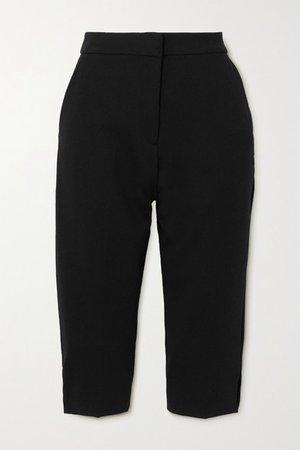 Lien Crepe Shorts - Black