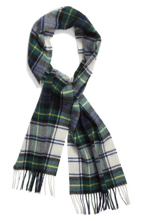 Barbour 'Shilhope' Plaid Wool Scarf | Nordstrom
