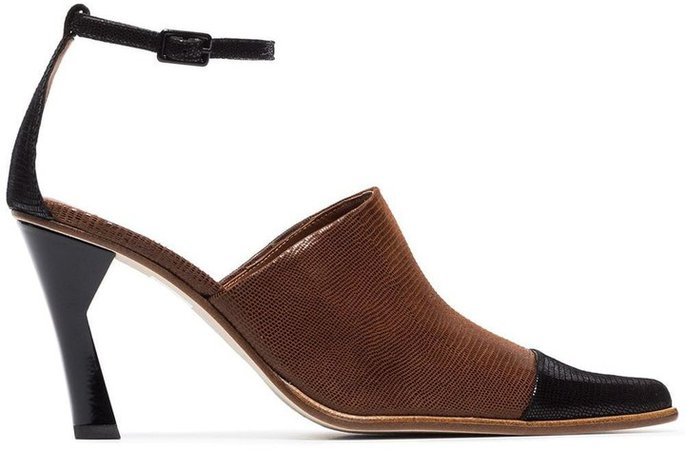 Estelle 85 sculpted heel pumps