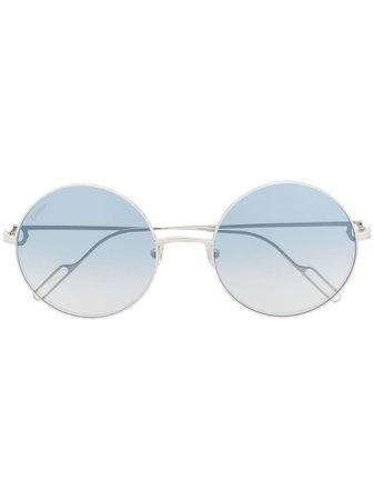 Cartier Eyewear Première De Cartier Round-Frame Sunglasses Ss20   Farfetch.Com