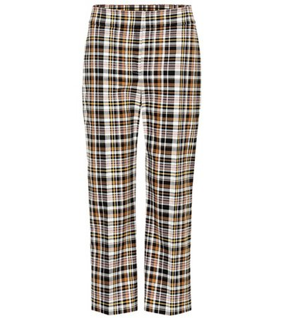 Actonby cropped plaid pants