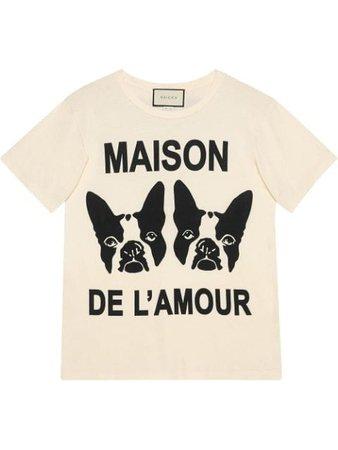 Gucci Playera Maison De l'Amour - Farfetch