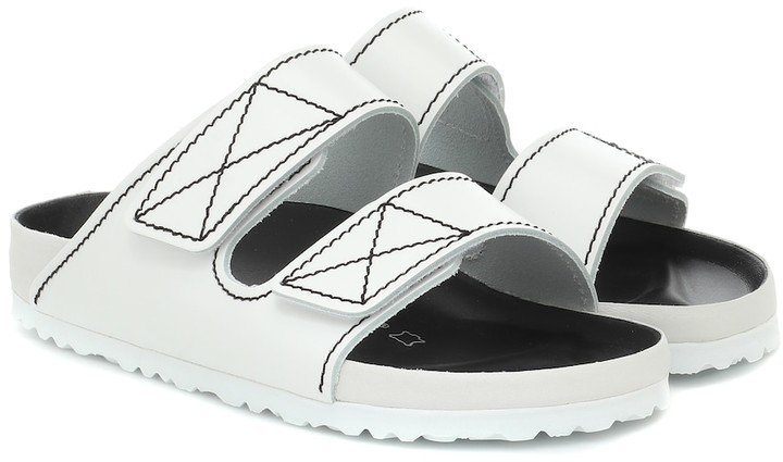 x Birkenstock Arizona leather sandals