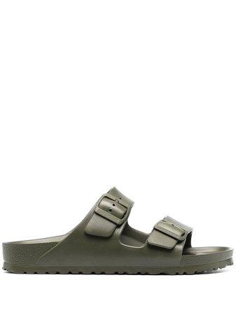 Birkenstock Arizona double strap sandals green 1019152 - Farfetch