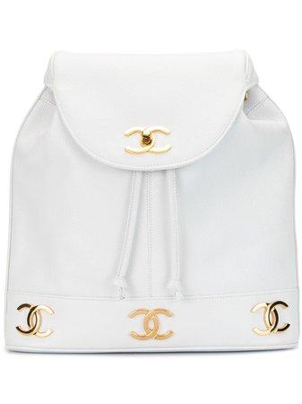 Chanel Pre-Owned Sac à Dos à Logo CC - Farfetch