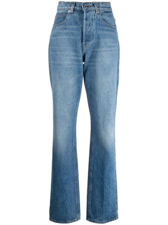 Paco Rabanne Jeans Con Tiro Alto - Farfetch