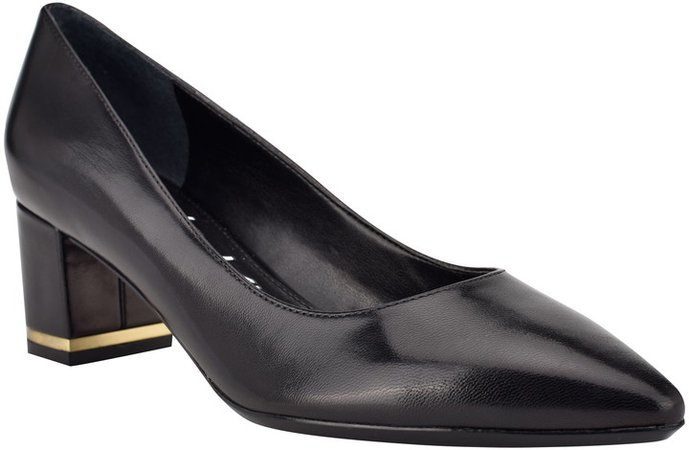 Nita Block Heel Pump
