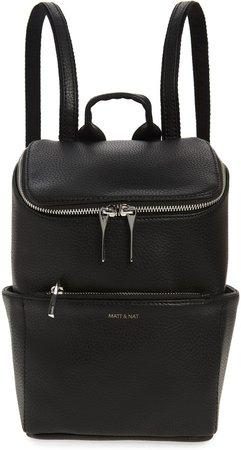Braves Vegan Leather Backpack