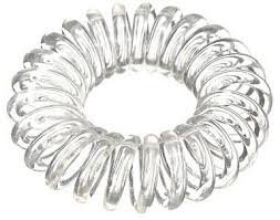 clear telephone cord hair ties - Google Search