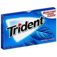 sugar free trident gum