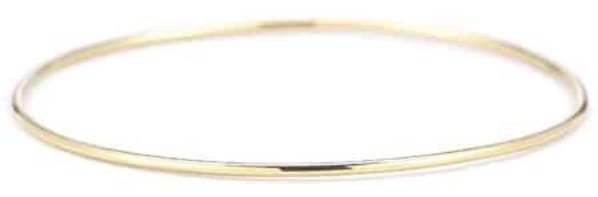 Yellow Gold Simple Bracelet