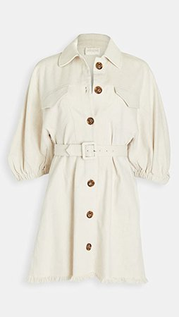 Divine Heritage Raglan Sleeve Princess Seam Mini Dress | SHOPBOP
