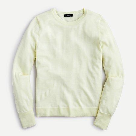 lime J.Crew: Margot Crewneck Sweater For Women