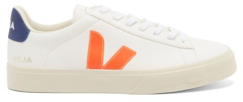 Campo Leather Trainers - White Multi