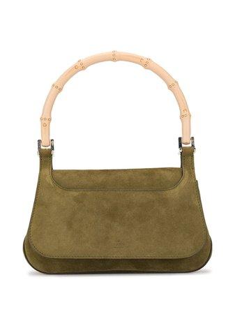 Gucci Pre-Owned Bamboo Line Hand Bag | Farfetch.com