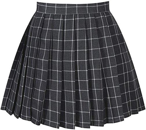Amazon.com: GOLDSTITCH Women's high Waisted Pleated Cosplay Costumes Skirts: Clothing