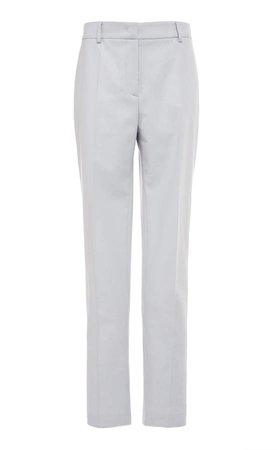 Alberta Ferretti Flannel Skinny Pants