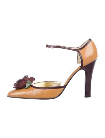 Dolce & Gabbana Embellished d'Orsay Pumps - Shoes - DAG142412 | The RealReal