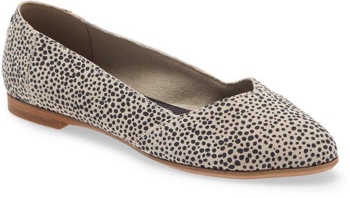 Julie Almond Toe Flat