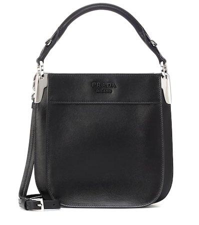 Margit leather shoulder bag