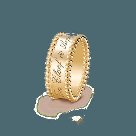Van Cleef & Arpels, Perlée signature ring