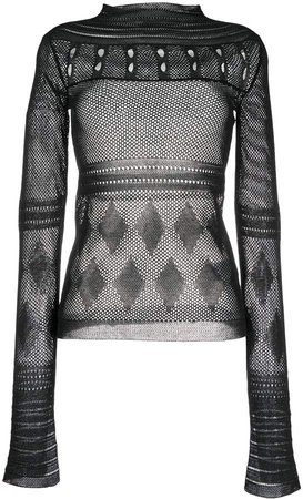 Mrz Long-Sleeve Knitted Top