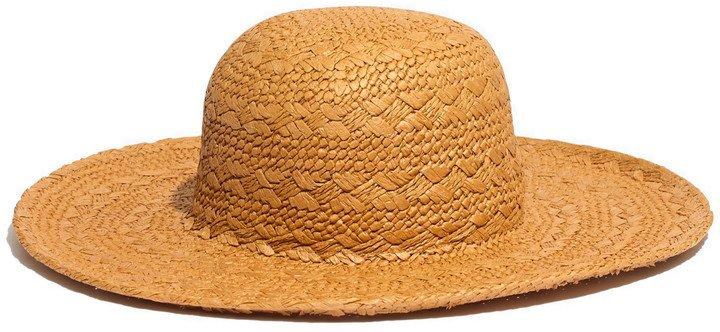 Braided Straw Sun Hat