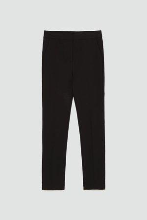 PANTALÓN SKINNY TIRO ALTO - Pantalones de vestir-PANTALONES-MUJER | ZARA España