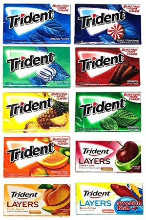 trident gum all flavors