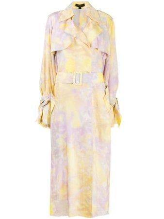 Ellery Tie Dye Trench Coat - Farfetch