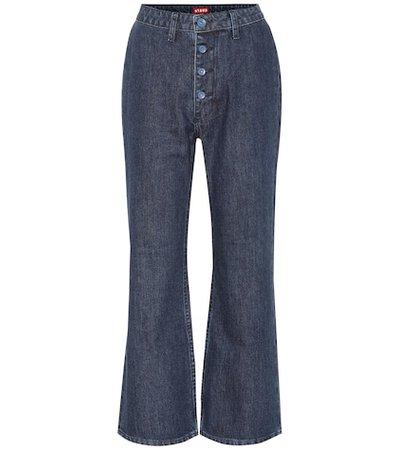 Helena high-rise flared jeans