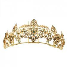 emerald and gold crown - Google Search