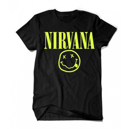 Nirvana T-Shirt (Black)