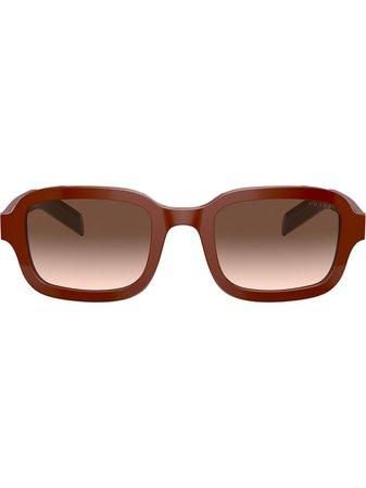 Prada Eyewear rectangular-frame Sunglasses - Farfetch
