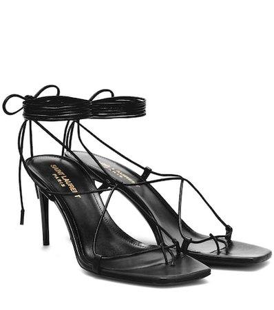 Paris 75 leather sandals