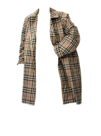 Burberry trench coat png