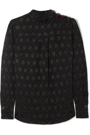 Cefinn | Printed jacquard blouse | NET-A-PORTER.COM
