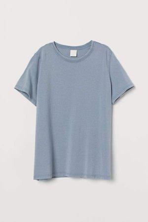 Cotton T-shirt - Gray