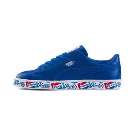 Chaussure PUMA x PEPSI MAX Basket II | Clean Blue-Clean Blue-P Wht | PUMA PUMA X PEPSI MAX | PUMA France
