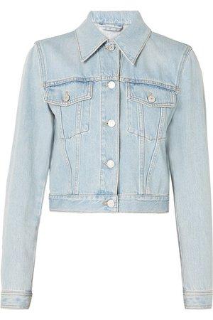 Gucci   Cropped appliquéd denim jacket   NET-A-PORTER.COM