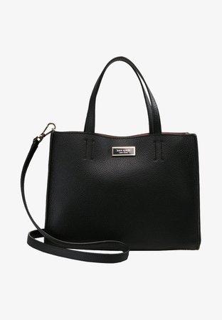 kate spade new york OUR ORIGINAL BAG MEDIUM SATCHEL - Sac à main - black - ZALANDO.FR