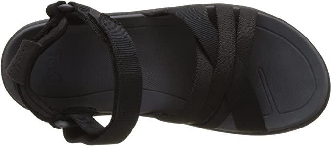Amazon.com   Teva Women's W Sanborn Sandal, Black, 5 M US   Sport Sandals & Slides