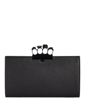Alexander McQueen Skull Four Ring Clutch | INTERMIX®