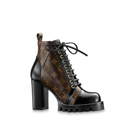 Star Trail Ankle Boot - Louis Vuitton Leather Boot for Women | LOUIS VUITTON ®