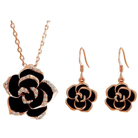black and gold jewelry - Google Search
