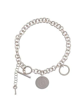 Mm6 Maison Margiela Chain Necklace - Farfetch