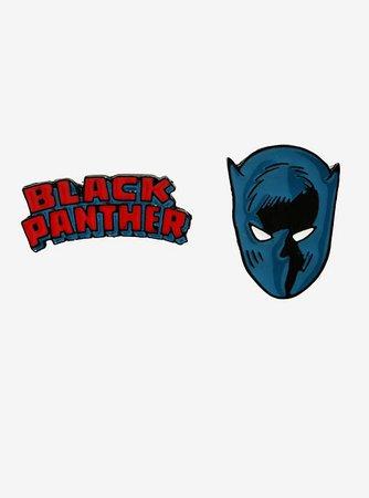 Marvel Black Panther Enamel Pin Set - BoxLunch Exclusive