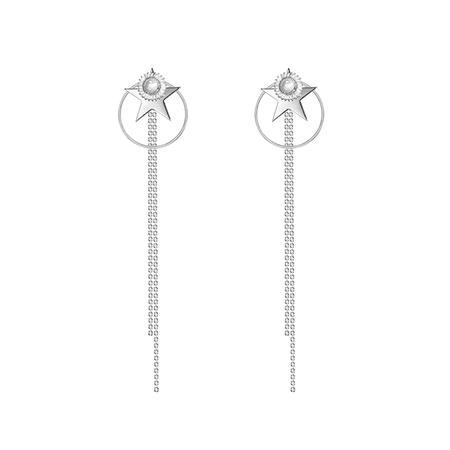 JESSICABUURMAN – KOLIT Star And Ring Earrings - Pair