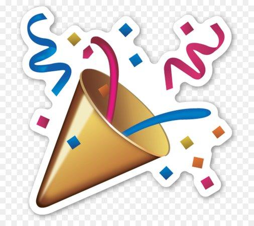 confetti emoji png - Google Search